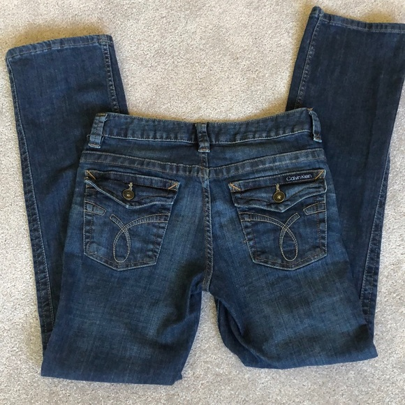 Calvin Klein Denim - 2 for $20 Calvin Klein Lean Bootcut Jean low rise